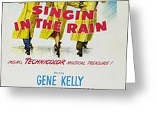 Singin in the Rain Greeting Card by Nomad Art And  Design