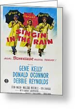 Singin In The Rain Greeting Card by Georgia Fowler