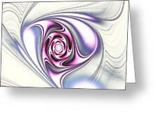 Single Rose Greeting Card by Anastasiya Malakhova