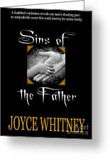 Sins Of The Father Book Cover Greeting Card by Mike Nellums