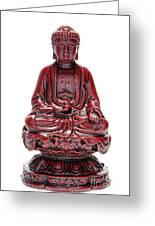 Sitting Buddha  Greeting Card by Olivier Le Queinec