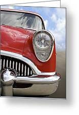 Sitting Pretty - Buick Greeting Card by Mike McGlothlen