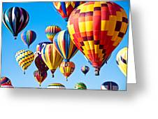 Sky Of Color Greeting Card by Shane Kelly