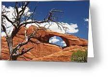 Skyline Arch 2 Greeting Card by Mel Steinhauer