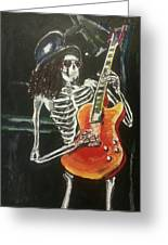 Slash Greeting Card by Marisa Belculfine