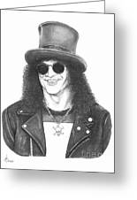 Slash Greeting Card by Murphy Elliott