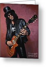Slash Greeting Card by Paul Meijering