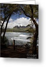 Sleeping Giant Greeting Card by Suzanne Luft