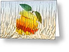 Sliced Fruit Greeting Card by Jack Zulli