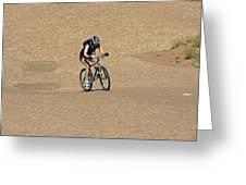 Slickrock Trail Utah Greeting Card by Aidan Moran