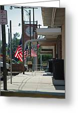 Small Town America Greeting Card by Robyn Stacey