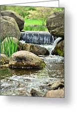 Small Waterfall Greeting Card by Gynt