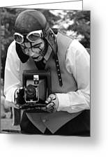 Smile For The Camera Greeting Card by Kym Backland