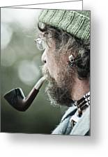 Smoke Greeting Card by Off The Beaten Path Photography - Andrew Alexander