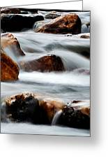 Smoke On The Water Greeting Card by Steven Milner