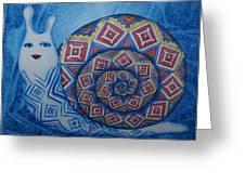 Snail Greeting Card by Khromykh Natalia