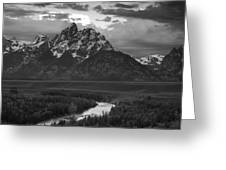 Snake River In The Tetons Greeting Card by Andrew Soundarajan