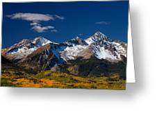 Sneffels Clearing  Greeting Card by Darren  White