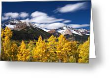 Sneffels Winds Greeting Card by Darren  White
