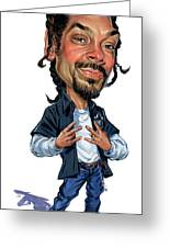 Snoop Dogg Greeting Card by Art