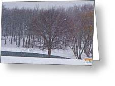 Snow Day Greeting Card by Chris Berry