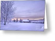 Snow Day Greeting Card by Kristal Kraft