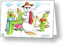 Snowday Greeting Card by Cristophers Dream Artistry