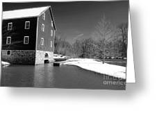 Snowy River Greeting Card by John Rizzuto