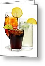 Soft Drinks Greeting Card by Elena Elisseeva
