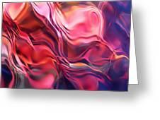 Soft Streamlines Greeting Card by Terril Heilman