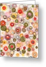 Softly Bubbling Greeting Card by Regina Valluzzi