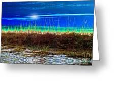 Solar Sky Greeting Card by Laurel D Rund