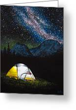 Solitude Greeting Card by Aaron Spong
