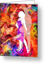 Some Like It Hot 2 Greeting Card by Angelina Vick