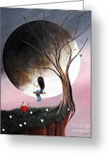 Sometimes She Just Wants To Be Alone By Shawna Erback Greeting Card by Shawna Erback