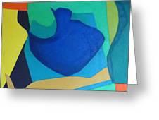 Sonata Greeting Card by Diane Fine