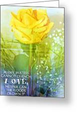 Song Of Solomon 8 7 Greeting Card by Michelle Greene Wheeler