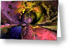 Song of the cosmos Greeting Card by Claude McCoy