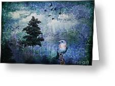 Songbird Greeting Card by Lianne Schneider