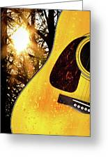 Songs From The Wood Greeting Card by Bob Orsillo