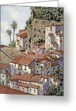Sorrento Greeting Card by Guido Borelli