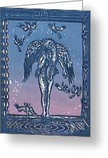 Sorrow Greeting Card by Dawn Senior-Trask