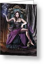 Soul Collector Greeting Card by Drazenka Kimpel