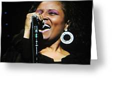 Soul Singer Greeting Card by Aaron Martens
