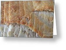 Sourdough Crust Greeting Card by Mary Deal