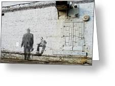South Wall Of The Harri Hoffmann Company Greeting Card by David Blank