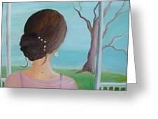 Southern Belle Greeting Card by Glenda Barrett