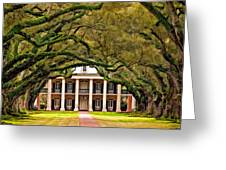 Southern Class Painted Greeting Card by Steve Harrington