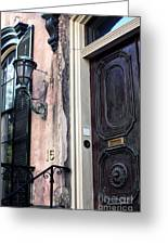 Southern Door Greeting Card by John Rizzuto