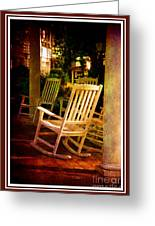 Southern Sunday Afternoon Greeting Card by Susanne Van Hulst